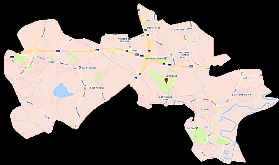 Wakefield Skip Hire WF3 Service Area